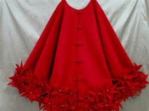72 christmas tree skirt in premium red felt with a by