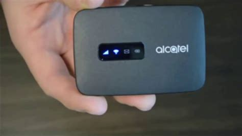 Mifi 4g Alcatel 4g Lte unboxing alcatel link zone 4g lte