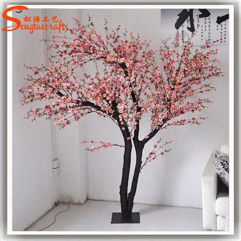 buatan cabang besar palsu pohon sakura cabang bunga palsu