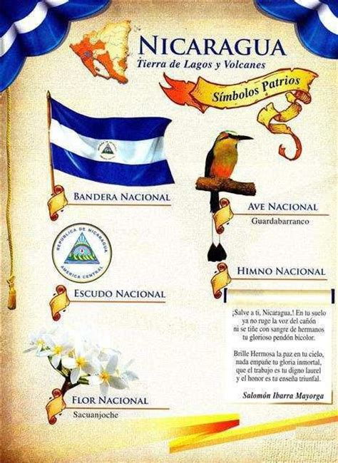 imagenes simbolos patrios de nicaragua 1000 images about nicaragua my beautiful home on