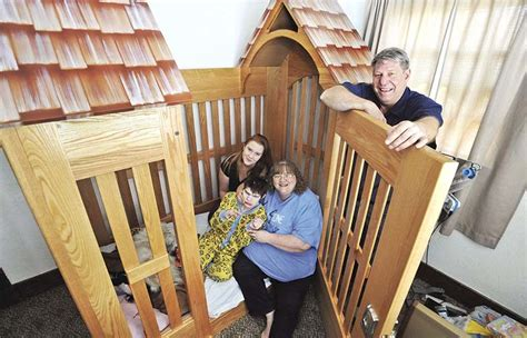 beds for special needs child company builds custom bed for special needs child in pocatello east idaho news