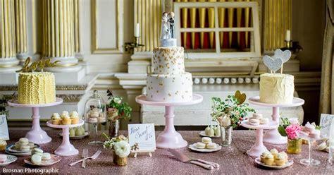 wedding cake table display pink dessert table ideas newhairstylesformen2014 com