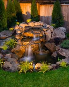 backyard water feature designs 75 relaxing garden and backyard waterfalls digsdigs