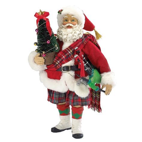 irish christmas musical scottish santa at irishshop com