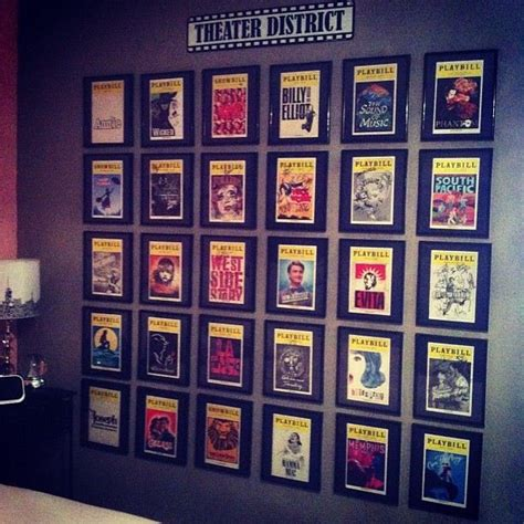Broadway Home Decor by Best 25 Broadway Themed Room Ideas On Ticket