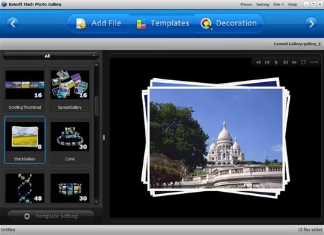 Photo Gallery by Flash Photo Gallery Software