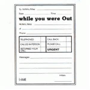printable telephone message pads