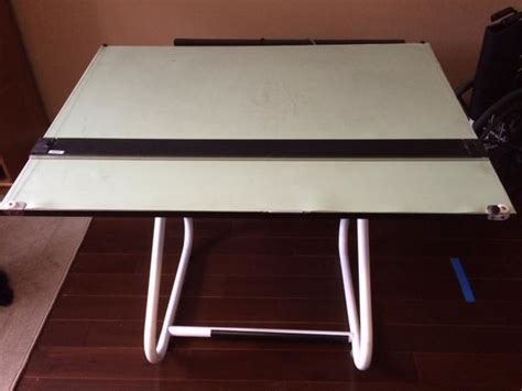 Drafting Table With Sliding Straight Edge Saanich Victoria Drafting Table Edge