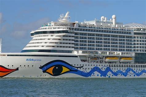 Aida Deck by Analyzing Aida Cruises New Aidaprima Bow Design Travelpulse