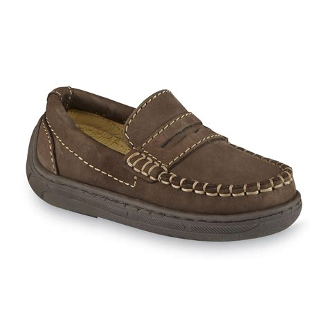 loafers for toddler boys primigi toddler boy s choate leather loafer brown