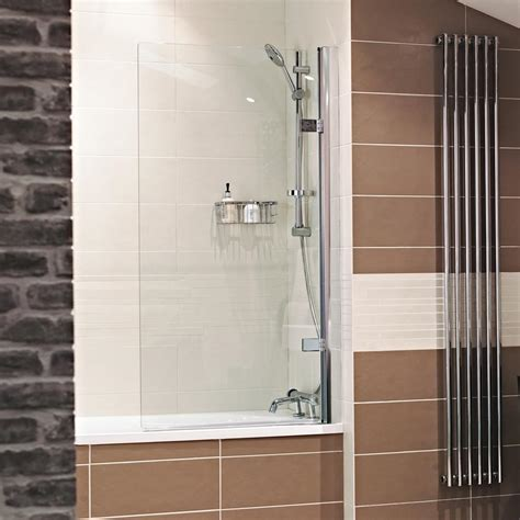 the bath shower screens power shower compatible bath screens showers