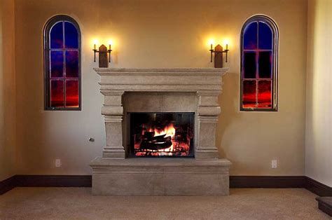 Foam Fireplace by Fuax Fireplace Surrounds Foam Concepts Inc