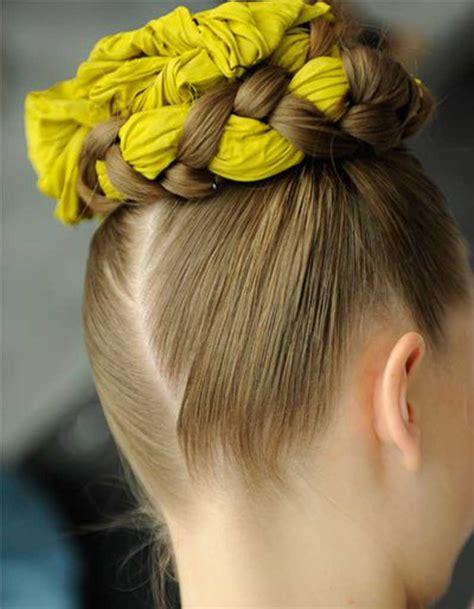 Coiffure Cheveux Fins by Coiffure Cheveux Fins Foulard 30 Coiffures Pour Les