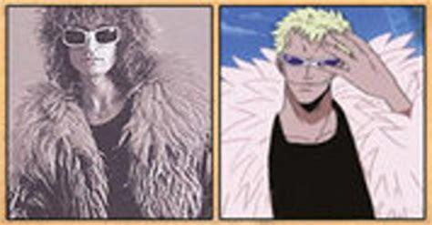 les celebrites qui ont inspire certains personnages du manga  piece