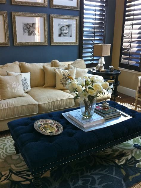 Blue And Beige Living Room Who Likes This Blue Beige Living Room The Home Touches