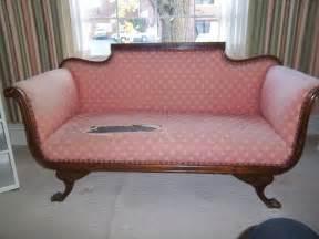 Antique Settee Loveseat Vintage Original 1800s Antique Loveseat Settee Sofa