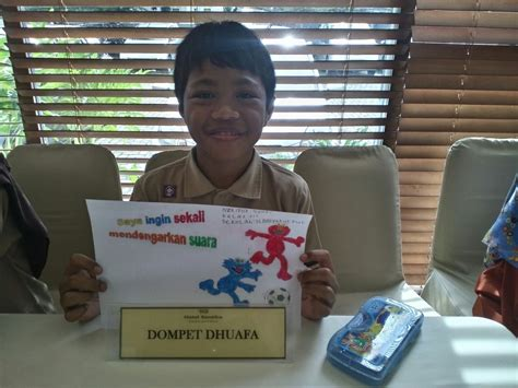Alat Bantu Dengar Buat Anak Wujudkan Mimpi Untuk Dapat Mendengar Dompet Dhuafa
