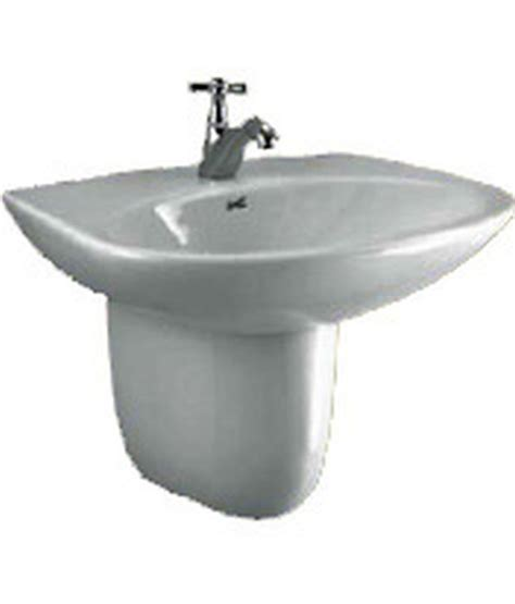 parryware bathtub buy parryware flair basins and pedestal c0461 online at