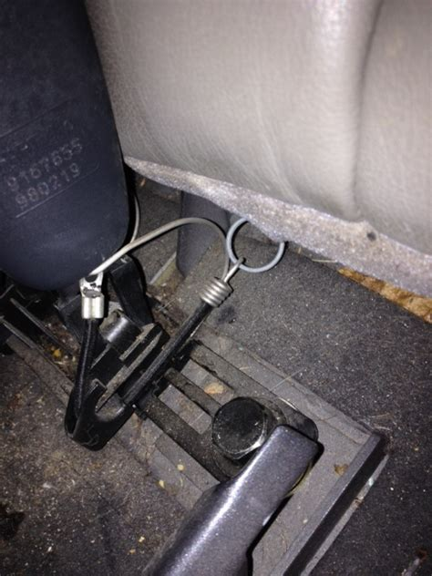vr rear seat belt latch question volvo forums