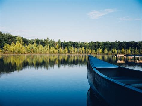 pictures of boats on the lake canoe lake forest 183 free photo on pixabay