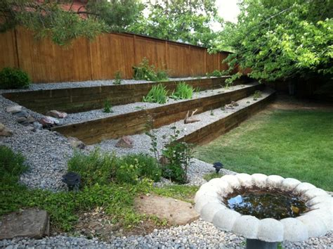 Railroad Tie Landscaping Ideas Railroad Ties Retaining Wall Search Landscaping And Gardening Pinterest Railroad