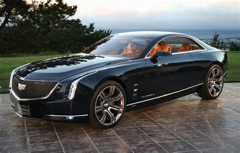 Performance Cadillac Cadillac Unveils New Elmiraj Concept At Pebble
