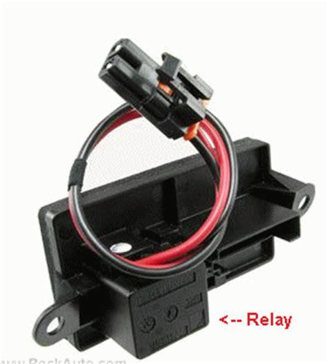 test blower motor resistor chevy silverado in my 2000 chevy silverado the blower motor works on all setting except high