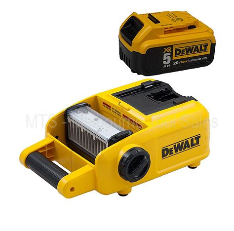 dewalt dcl060 18v 20v max cordless led work area light