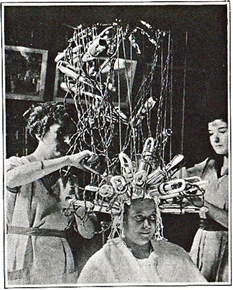 my first perm with perm machine by john m first permanent wave machine alcatraz here we come