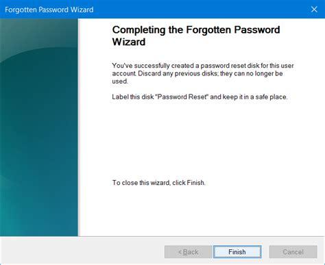 vista password reset disk usb download how to create password reset disk on usb drive in windows 10