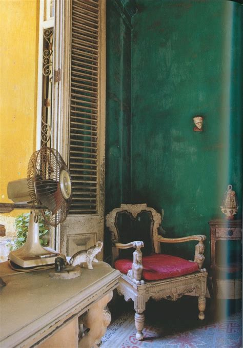 Cuban Inspired Decor by Cuban Decorating Style Iron