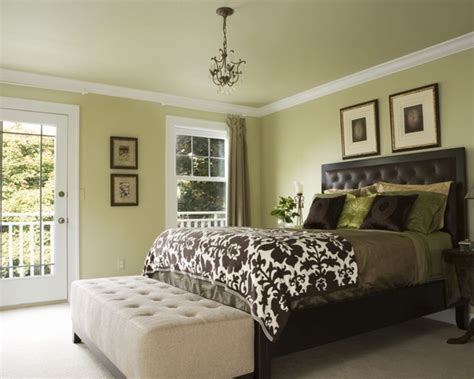 green painted bedrooms light green bedroom color beautiful homes design