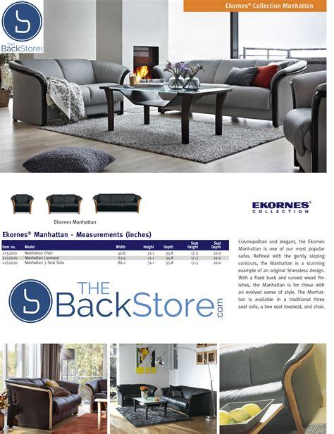 ekornes leather sofa ekornes manhattan sofa loveseat and chair ekornes