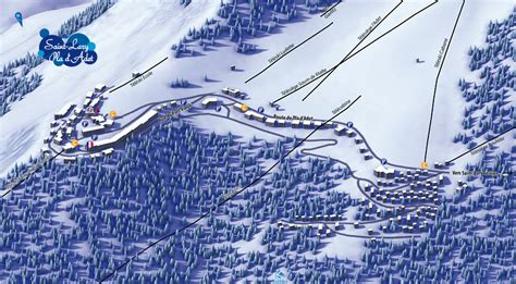 Plan de la station Saint Lary   Pla d'Adet 1700   Intersport Rent