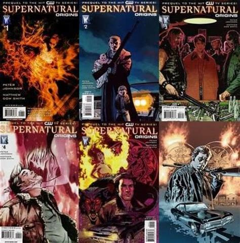 dean a from beginning to end books supernatural comic book