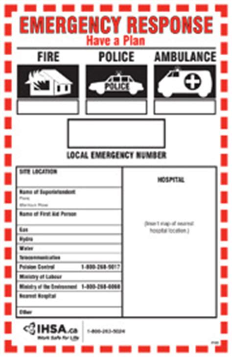 Emergency Response Plan Template For Construction getting started