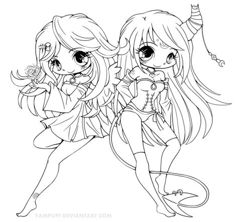 deviantart coloring pages suii and iish lineart by yampuff on deviantart