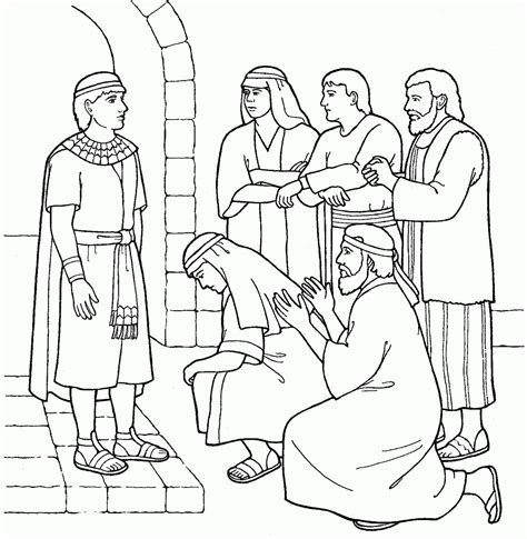 coloring pages of joseph in jail 8 pics of joseph in prison coloring page color page