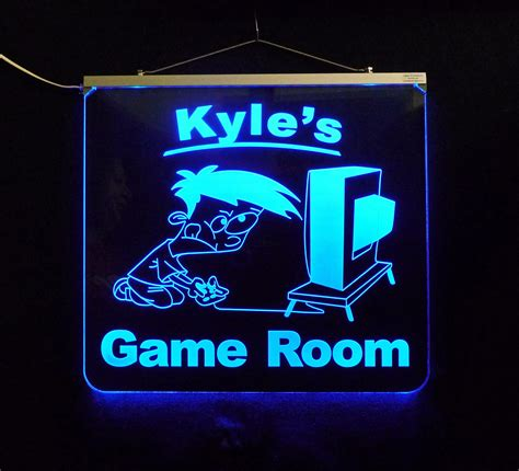 game room sign personalized gift