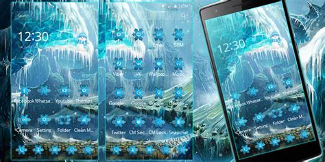 theme line android frozen theme ice frozen snow castle android apps on google play