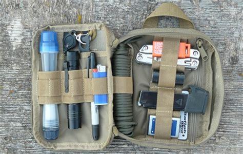 edc backpack list edc kit