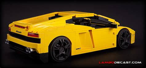Lego Lamborghini Gallardo by The 1 18 Lamborghini Gallardo Lp560 4 From Lego A Review