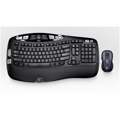 Logitech Comfort Cordless Keyboard by Logitech Comfort Wireless Ergonomic Keyboard Mouse Combo