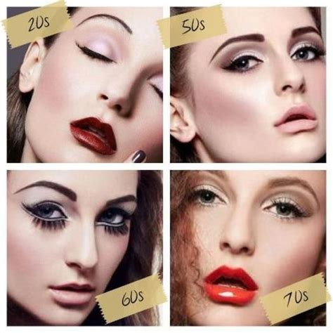 eyebrow fashions throughout the decades makeup trends through the decades google search period