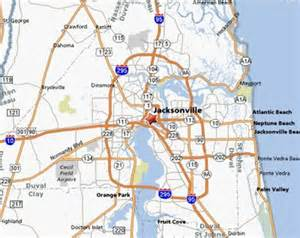 map of jacksonville pictures to pin on