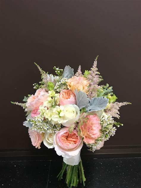 david austin bridal bouquet bride floral garage