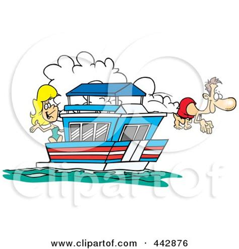 houseboat cartoon picture royalty free rf clip art illustration of a cartoon