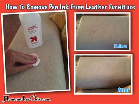 Remove Pen Ink From by How To Remove Ink From Leather Furniture All You Need Is