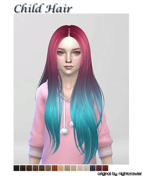 the sims 4 hair kids 79 best images about ts4 hair kids cf on pinterest