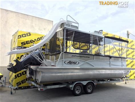 boats for sale qld trading post aloha pontoon party boats for sale in arundel qld aloha